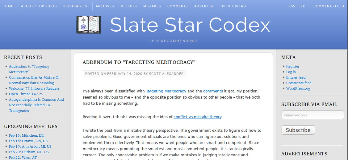 Neurotypical Slate Star Codex