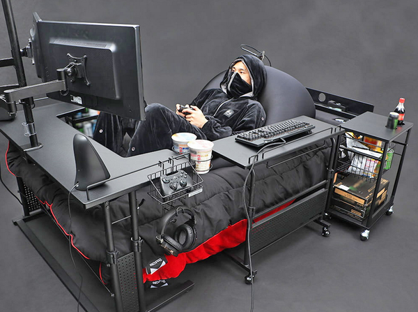 The Ultimate Gaming Bed and More.