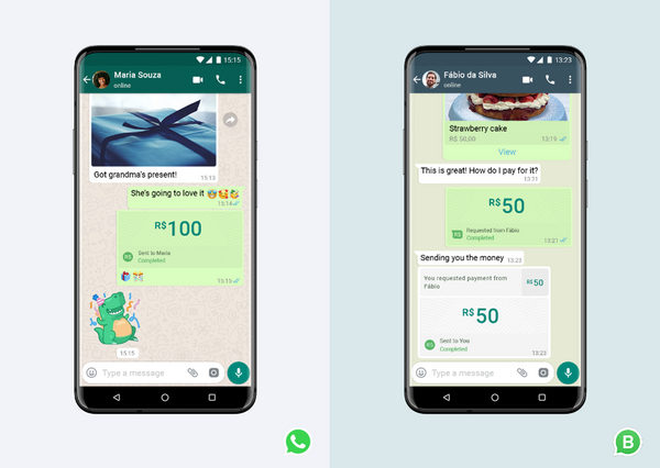 WhatsApp Announces transaction through chat